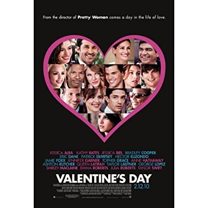 Amazon Com Valentine S Day Movie Poster Double Sided 27x40