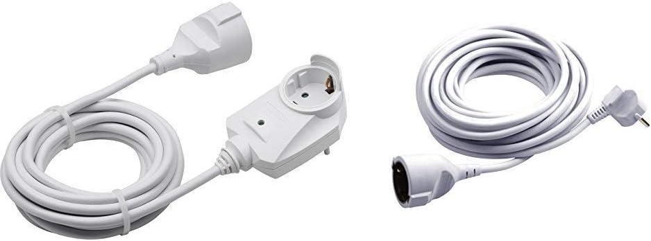 Meister Schutzkontakt Verlängerung Mit Zusatzstecker 3 M Kabel Weiß Ip20 Innenbereich 7430680 Schutzkontakt Verlängerung 3 M Kabel Weiß Kunststoffleitung Ip20 Innenbereich 7432310 Baumarkt