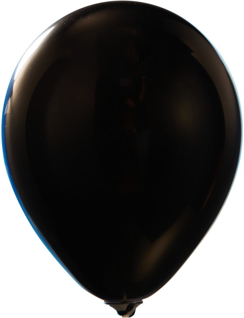 Black 12 Latex Balloons - Crystal (50-Count) Colorful Happy Birthday Party, Gender Reveal, Baby Shower Or Event Use | Fill with Air Or Helium | Kid-Friendly | Party Zone