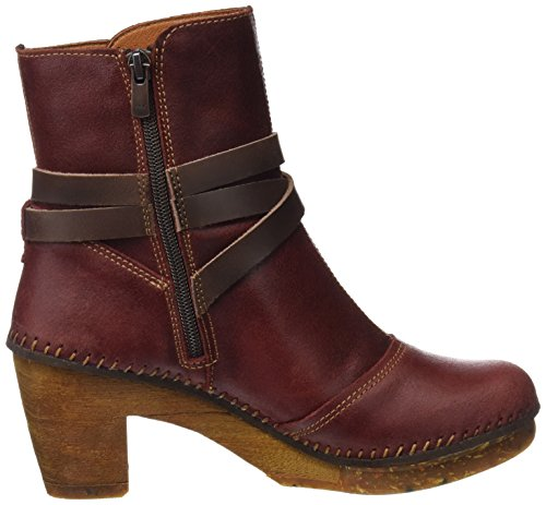 Wax Ankle Amsterdam Amarante Women's Art Red Boots z7Edw8wXnq
