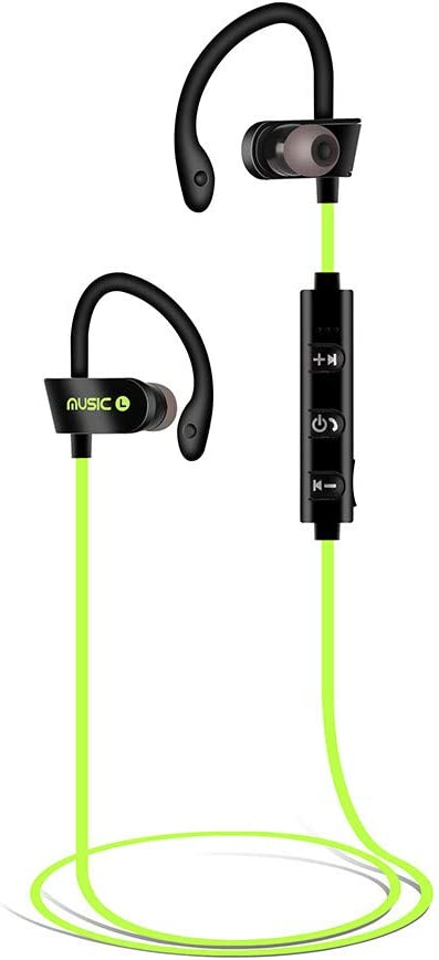 chenqiu Bluetooth Headphones, chenqiu Wireless Earbuds IPX7 Waterproof Noise Cancelling Headsets, Richer Bass & HiFi Stereo Sports Earphones 8 Hours Playtime Running Headphones with Travel Case
