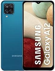 Samsung Galaxy A12 SM-A125F Dual-SIM 128GB ROM + 4GB RAM Factory Unlocked 4G/LTE Smartphone (Blue) - International Version