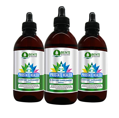 X3 Ben's Prostate Healer - Maximum Strength Multi-Herbal Natural Formula for Restoring restoring and Maintaining the Health of Your Prostate, Kidney, Bladder and Urinary System.