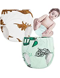 October Elf Unisex Baby Toddler Potty Training Pants Reusable Baby Underwear