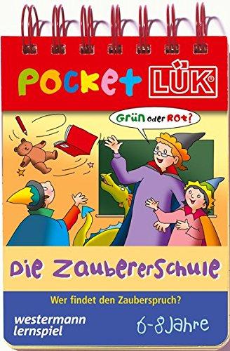PocketLÜK: Zaubererschule: Wer findet den Zauberspruch?