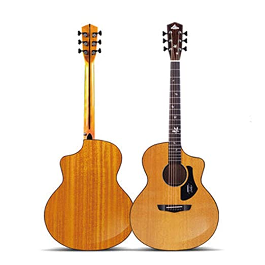 Instrumentos musicales Guitarra Folk Cartón Single Board Guitarra ...