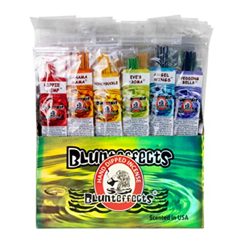 Blunteffects Premium Hand Dipped Incense - 12 Different scents 12 Sticks Each - 144 11