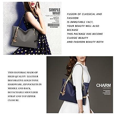 LoZoDo Women Top Handle Satchel Handbags Tote Purse Shoulder Bag