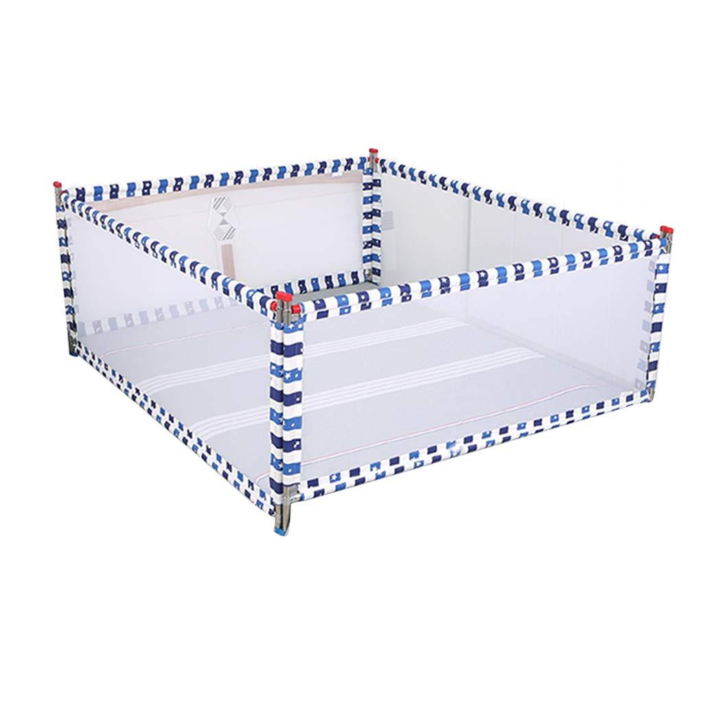 KJZhu Barrière de prougeection pour bébé, barrière de salon avec lit multifonction anti-chute de chambre à coucher, rehaussement intérieur, garde-corps de lit à levage vertical, 1,5-2 M Multifonction A 15020