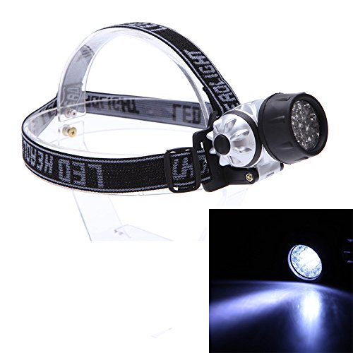19 LED 4 Mode Night Fishing Head Light Headlamps Waterproof Hiking Camping Hunting LED Headlight Head Lamp Torch Flashlights