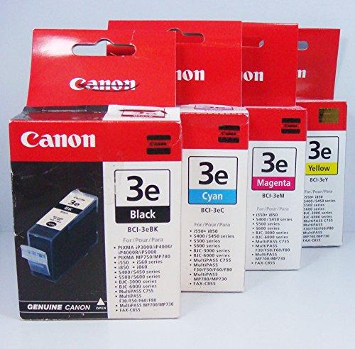 BCI-3e Black 4 Pack