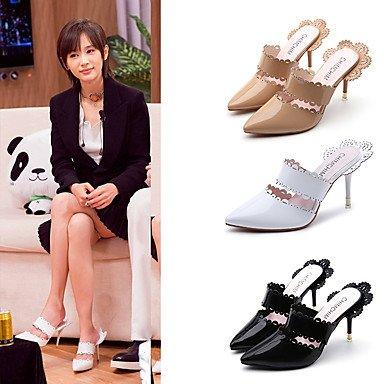 Y Fiesta Tacón Tacones Zapatos Negro Paseo Almond Lvyuan Stilettoblanco Mujer ggx Vestido Otoño Confort Pu Verano Formales Noche vpnPUqxn