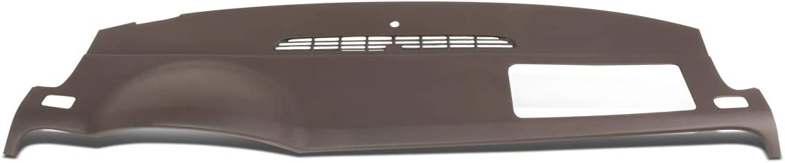 DNA MOTORING Brown ZTL-Y-0078-BN ABS Dash Board Skin Cover Cap Overlay
