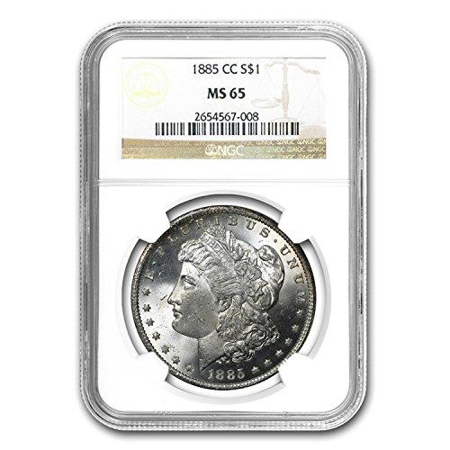1885 CC Morgan Dollar $1 MS-65 NGC