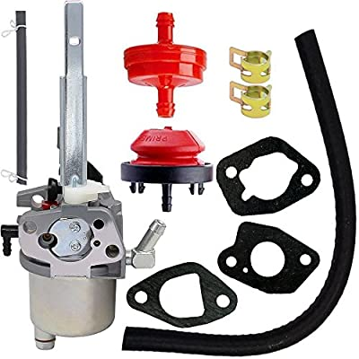 Carburetor for Ariens 20001368 20001027 McCulloh 436565 Poulan Pro 532436565 585020402 LCT 03121 03122 Husqvarna Snow Thrower with LCT 208cc Snow Blower Engine (532436565)