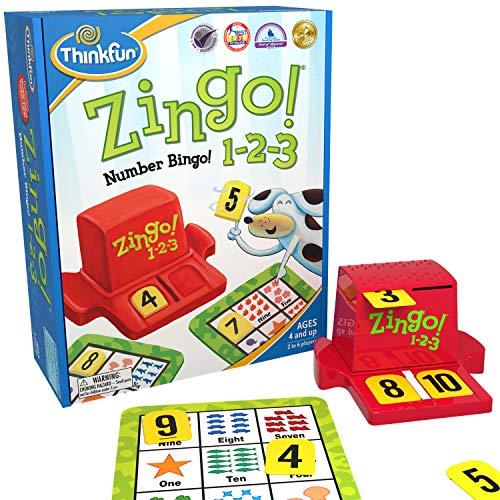 ThinkFun Zingo 1-2-3 Number