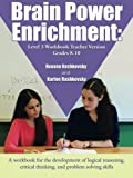 Brain Power Enrichment: Level 3 Workbook Teacher Version Grades 8-10 by Reuven (2015-10-30)