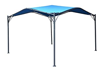 Mefo Garden Gazebo Outdoor Canopy Patio Swan , 12 X 12 Ft, Blue