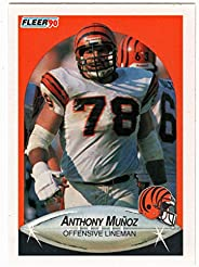 Anthony Munoz - Cincinnati Bengals (Football Card) 1990 Fleer # 220 Mint