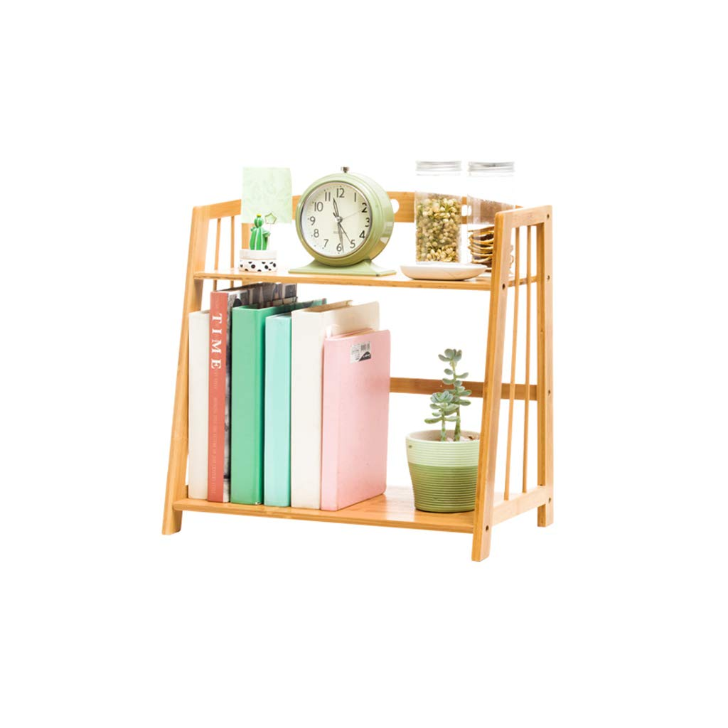 SLH Trapezoid Simple Almacenamiento Table Bookshelf Student Mini Estantería de Almacenamiento Simple de Escritorio 0582ca