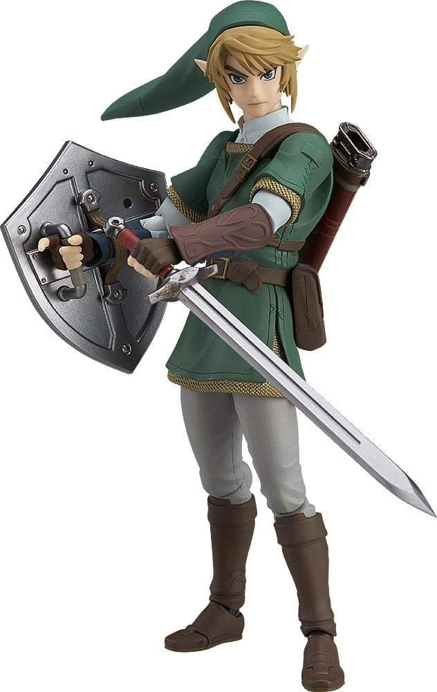 Good Smile The Legend of Zelda Twilight Princess Link (Deluxe Version) Figma Action Figure
