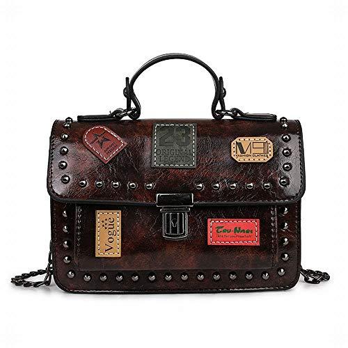 Main Jessiekervin Les À Brown Yy3 Femmes color Bag Black Sacs Sac Pour Messenger Bandoulière r4zxrT0