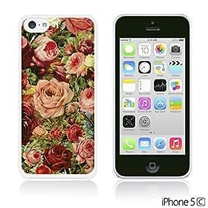 OnlineBestDigitFabric Pattern Hard Back Iphone 6 4.7Inch/Vintage Roses Painting