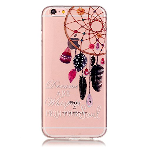 iPhone 6S Plus Case, iPhone 6 Plus Case,Alkax[Crystal Clear]Premium Flexible Soft TPU Case Series Scratch-Resistant Cover for Apple iPhone 6S Plus 5.5 Inch With 1 Stylus Pen(Aeolian bells) (Iphone 6 For 99 Cents compare prices)
