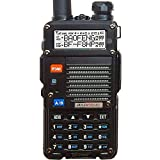 BaoFeng BF-F8HP (UV-5R 3rd Gen) 8-Watt Dual Band Two-Way Radio (136-174MHz VHF & 400-520MHz UHF) Includes Full Kit with...