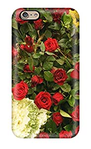 WSg9845MDND Phone Cases With Fashionable Look For Iphone 6 - Flowers Roses