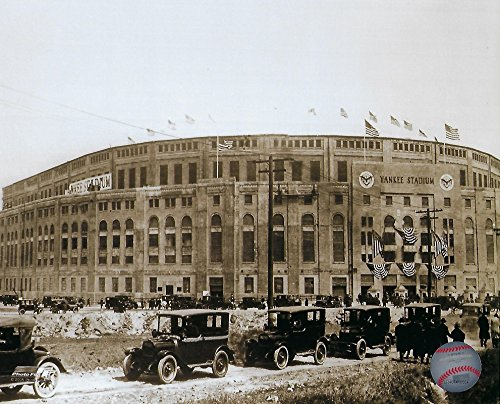 The New York Yankees Yankee Stadium On Opening Day In 1923 8x10 Photograph Picture. (1923)