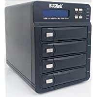 Buslink U3-32TB4S 32TB 4 bay RAID Mode Selectable USB 3.0/eSATA External Desktop Hard Drive