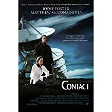 Contact Poster 27x40 Jodie Foster Matthew McConaughey James Woods Poster Print, 27x40