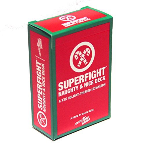 Deck Nice - SkyBound SUPERFIGHT: Card Game from Entertainment: The Naughty & Nice Expansion Deck
