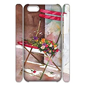 3D Doah Kira's Bouquet Cases for IPhone 5C, with White