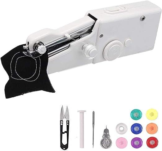 Máquina de coser de mano con bobinas adicionales, MSDADA portátil ...