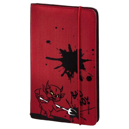 Hama CD Tasche Up to Fashion (zur Aufbewahrung und Schutz für 48 CDs, DVDs und Blu-rays, aus Nylon) rot