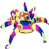 Blancho Bedding Fancy Dress Hat Jester Hat Fun Multi-Color Halloween Party Costumes,Clown Hat#13