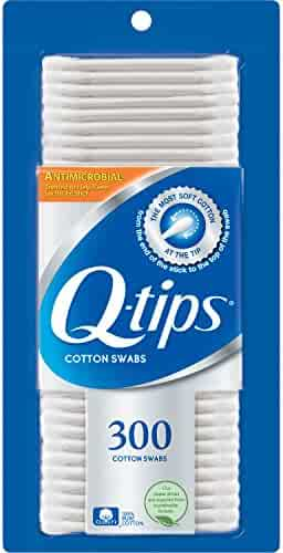 Q-tips Cotton Swabs, Anti-Bacterial 300 ct