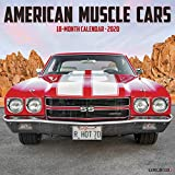 American Muscle Cars 2020 Wall Calendar
