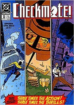 Checkmate 1988 series # 13 near mint comic book