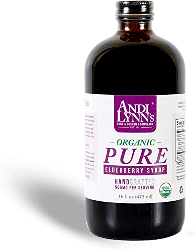 Andi Lynn's Pure Black Elderberry Syrup