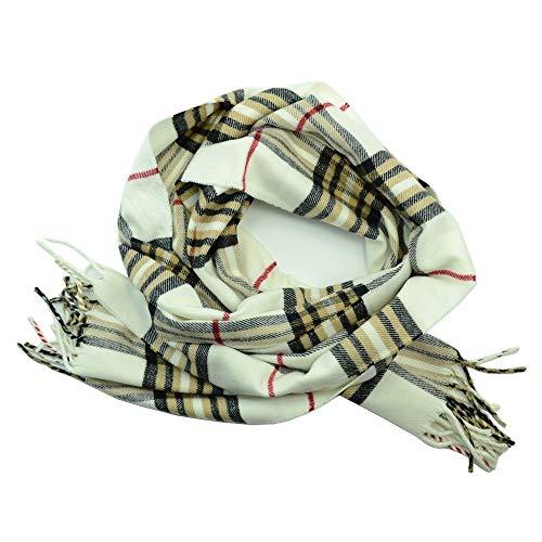 plaid scarf for women men unisex design super soft Shawl Cape F1011