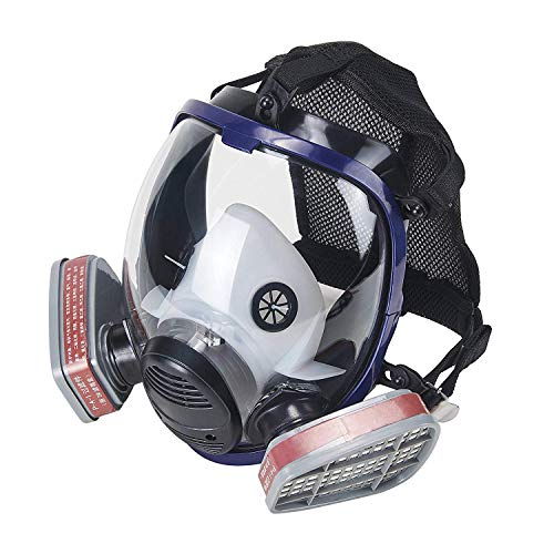 Phoenixfly99 Organic Vapor Full Face Respirator Safety Mask With Visor Protection For Paint, chemicals, polish (6800 Full face respirator+1 Pair 3# Filter) by Phoenixfly99 (Image #10)