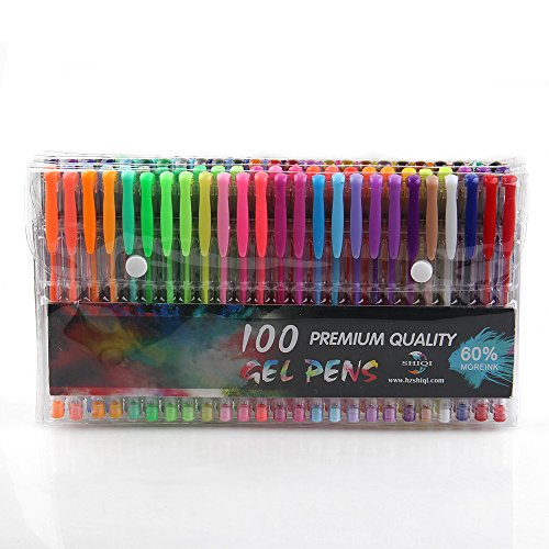 coosa-gel-pens-set-100-sparkly-colors-for-adult-coloring-books-standard-glitter-fluor-pastel-metalli