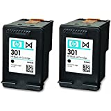 HP 301 Black Ink Cartridge (CH561EE x 2) Double Pack