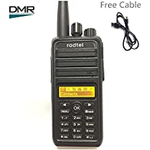 PUXING PD720 Digital DMR Two Way Radio Compatible with MotoTRBO 1000 Channels Selective Call, Group Call