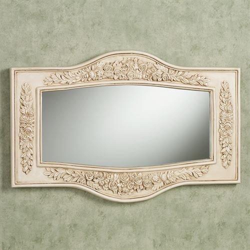 Britannia Rose Antique - Touch of Class Britannia Wall Mirror Antique Ivory