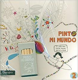 Pinto Mi Mundo Y Caja De Pinturas 2: Amazon.es: Potolo Bat, Muxote, Potolo Bat, Muxote: Libros