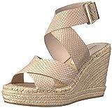 Kenneth Cole New York Women's Oda Espadrille Wedge Sandal, Clay, 6 M US